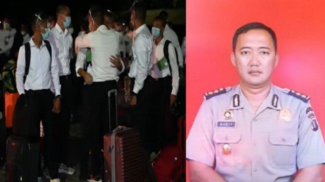 Nazar Sulung Perwira Polisi Lulus Calon Taruna Akmil, Ziarah ke Makam Ayah Pakai Seragam Taruna TNI