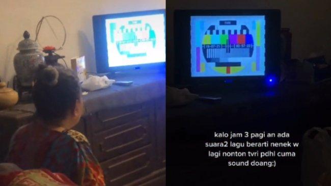 VIRAL Kisah Cucu yang Terbangun Mendengar Suara TV Pukul 3 Pagi, Ternyata Kebiasaan sang Nenek