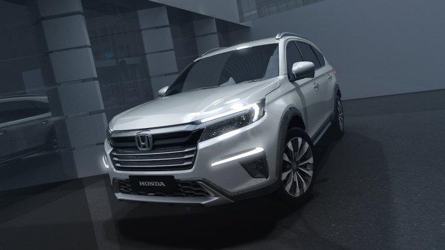 Honda Pamer Mobil Konsep N7X di Makassar