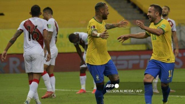 5 Fakta Brasil Menang Atas Peru, Brasil Tim Pertama yang Menang 9 Laga Beruntun dan Tanpa Kebobolan
