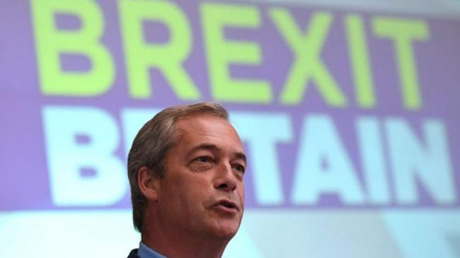 Brexit Berjaya, Pemimpin Partai Pro-Brexit Mundur dari Jabatannya
