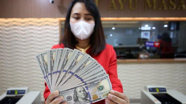 Rupiah Jatuh di Rp 14.202/Dolar AS Siang Ini, Berikut Kurs Rupiah di BRI, BNI, Bank Mandiri dan BCA