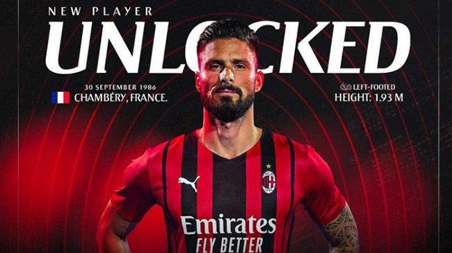 Hasil Pramusim Tadi Malam: Gol Perdana Giroud dengan AC Milan, Juventus dan Barcelona Menang