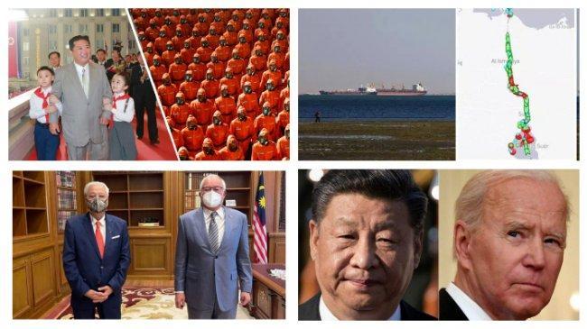 POPULER Internasional: Parade Militer 73 Tahun Korea Utara | Percakapan Telepon Presiden AS-China