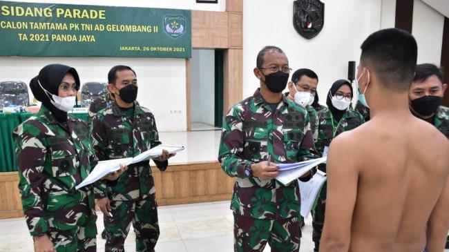 Pangdam Jaya Pimpin Kegiatan Sidang Parade Calon Tamtama PK TNI AD Gelombang II TA 2021