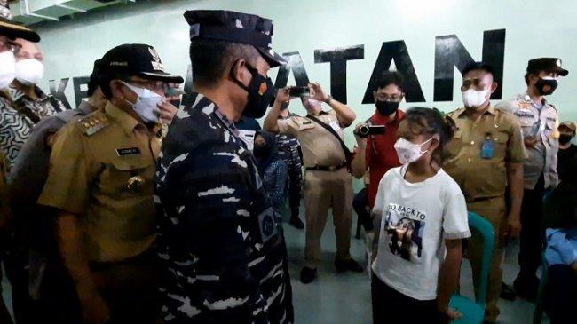 Siswi SMP di Pulau Panggang Ini Ajak Teman-temannya Ikuti Vaksinasi Covid-19 Agar Sehat