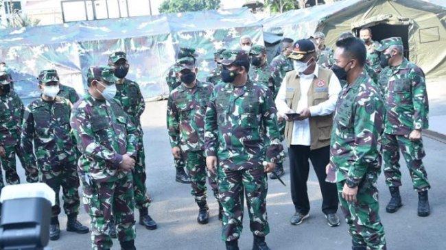 Panglima TNI Sidak Kesiapan Rumkitlap TNI AD, AL dan AU di Jakarta