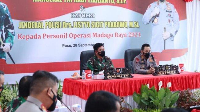 Panglima TNI Apresiasi Sinergi dan Kolaborasi Personel Satgas Madago Raya 2021