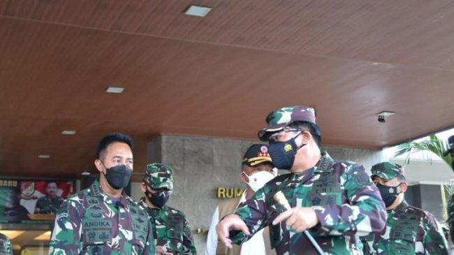 Panglima TNI dan KSAD Bahas Lokasi Ideal Rumkitlap