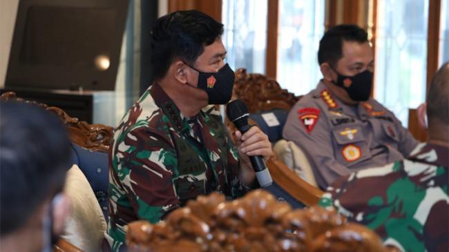 Pangdam Jaya, Kapolda dan Karumkit RSD Wisma Atlet Diminta Antisipasi Lonjakan Covid-19 di Jakarta