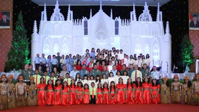 Panglima TNI Ajak Umat Beragama Bersaing Saling Menyebarkan Cinta Kasih dengan Sesama