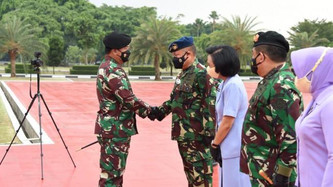 Panglima TNI Kukuhkan Kenaikan Pangkat Wakil KSAU dan 59 Perwira Tinggi Lainnya