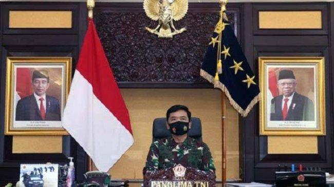 Panglima TNI Perintahkan Jajarannya Waspadai Potensi Lonjakan Kasus Covid-19