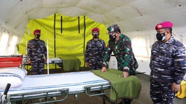 TNI Siapkan 650 Tempat Tidur Untuk Pasien Covid-19 di Rumah Sakit Lapangan Cilandak
