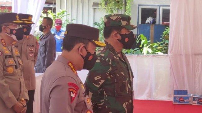 Panglima TNI dan Kapolri Cek Langsung Pembatasan Mobilitas di Posko PPKM Darurat Kalideres