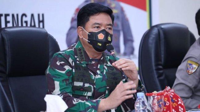 Panglima TNI: Penanganan Covid-19 di Sulteng Harus Didukung Semua Elemen
