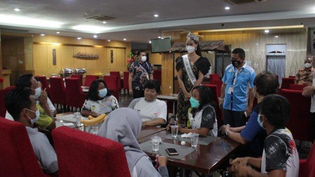 Semangati Atlet Difabel, Putri Indonesia Papua Siap Gelar Peparnas XVI