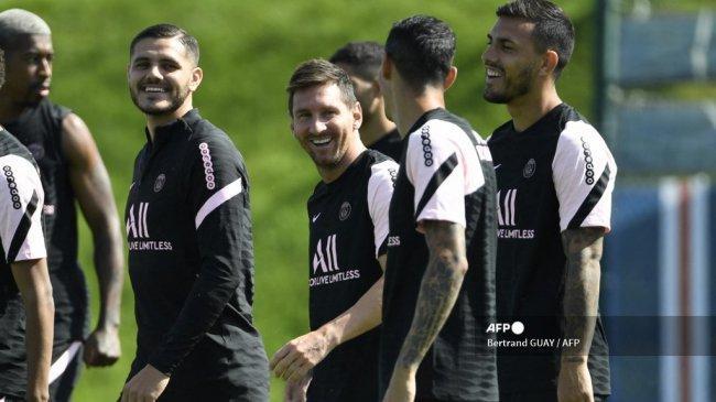 Leo Messi Bertengkar dengan Mauro Icardi, Dorong PSG Agar Tukar Icardi dengan Aguero dari Barcelona