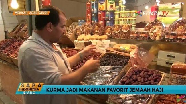 Di Pasar Ini Biasanya Jemaah Haji Indonesia Berburu Kurma untuk Oleh-oleh