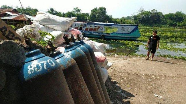 Gas Oksigennya Dipakai Merawat Pasien Covid, Omset Pedagang Ikan di Cianjur Anjlok Hingga 50 Persen