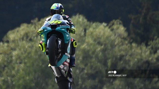 Sorotan MotoGP 2021 - Kesempatan Kedua Rossi Pecahkan Misteri Podium ke-200 di Misano
