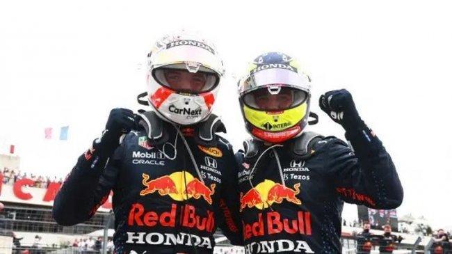 Kemenangan Ketiga Beruntun, Red Bull Racing Honda Tempatkan Dua Pebalapnya di Podium GP Prancis