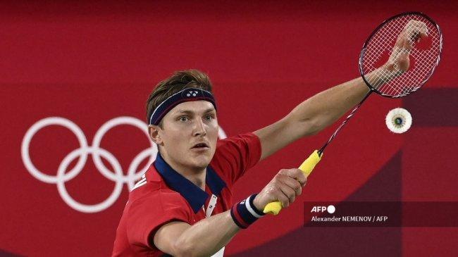 Axelsen Kalahkan Cordon, Tunggu Hasil Ginting vs Chen Long di Final Bulutangkis Olimpiade 2021