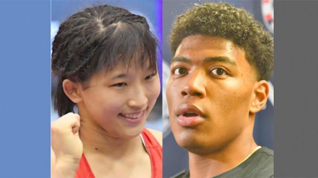 Yui Suzaki dan Rui Hachimura Atlet Pembawa Bendera Tim Olimpiade Jepang