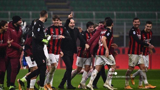 Hasil Liga Italia: AC Milan Menang dari Atalanta Berkat Liverpool