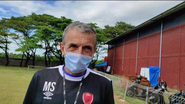 Milomir Seslija Sayangkan PSM Makassar Kebobolan Terlebih Dahulu Oleh Arema FC