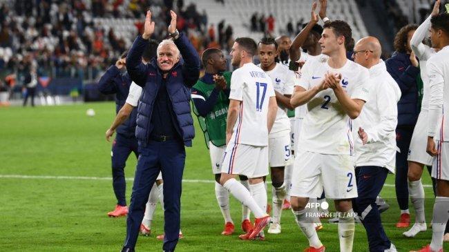 Komentar Suka Cita Deschamps Setelah Prancis Menang Dramatis dan Capai Final UEFA Nations League