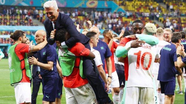 Prediksi Skor Swiss vs Spanyol Babak 8 Besar Euro 2021, Momentum Petkovic Ciptakan Sejarah Manis
