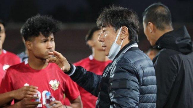 Hasil Timnas Indonesia U-23 vs Nepal - Shin Tae-yong Ingatkan Pemainnya Agar Tak Besar Kepala