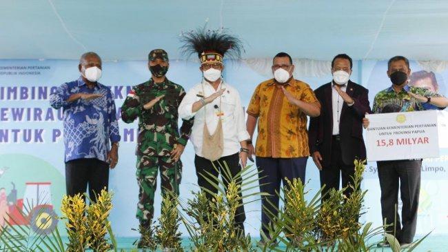 Mentan Syahrul Dorong Papua Cetak SDM Pertanian Muda