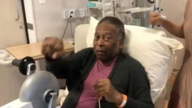 Pele Sudah Tak Sabar Ingin Bermain Lagi Setelah Keluar Dari Rumah Sakit