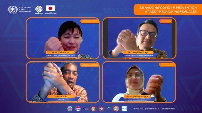 Indonesia dan Jepang Jalin Kerja Sama Tingkatkan Pencegahan COVID-19 di Tempat Kerja