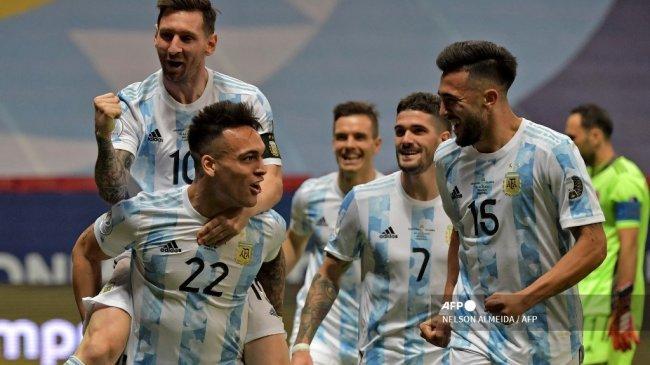 Final Copa America 2021 Argentina vs Brasil - Duel Adu Gacor Eks AC Milan vs Attacante Inter Milan