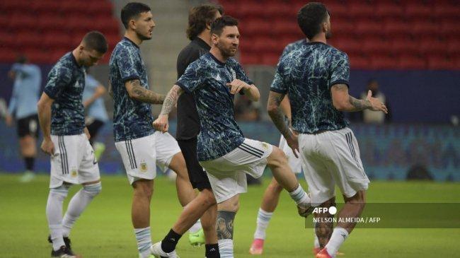 Brasil vs Argentina: Engkel Lionel Messi Terluka Parah, Begini Kondisi Terakhir La Pulga