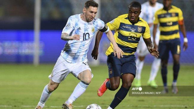Hasil Copa America: Ekuador Dibantai, Messi 2 Assist & 1 Gol, Argentina Hadapi Kolombia di Semifinal
