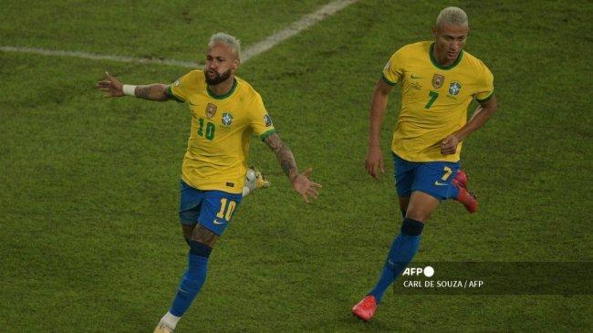 Prediksi Brasil vs Chile di Copa America 2021, Neymar Siap Kembali, Arturo Vidal Kelelahan