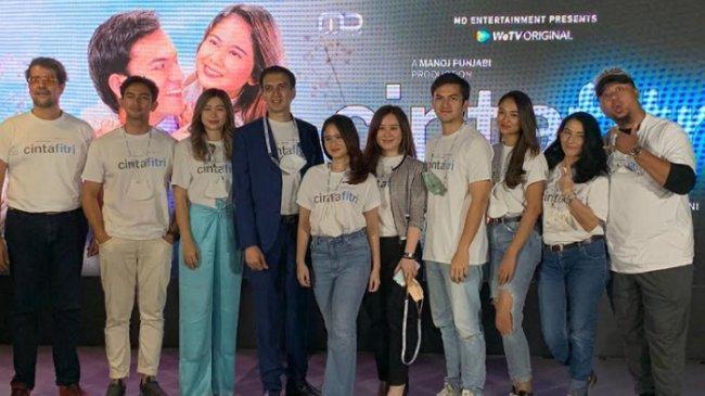Rizky Nazar dan Tissa Biani Deg-Degan Jelang Penayangan Perdana Cinta Fitri The Series