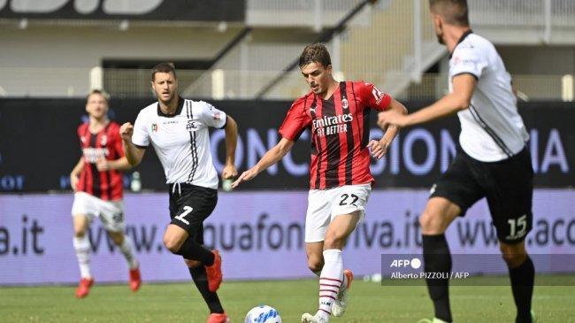 Daniel Maldini Bawa AC Milan ke Puncak Klasemen, Jawaban untuk Pioli dan Replikasi Francesco Totti