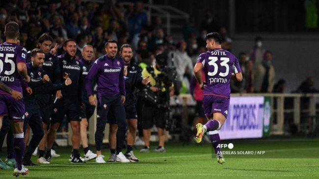 Hasil Fiorentina vs Inter Milan Liga Italia, La Viola Dominan, Nerazzurri Teringgal 1-0 di Babak I