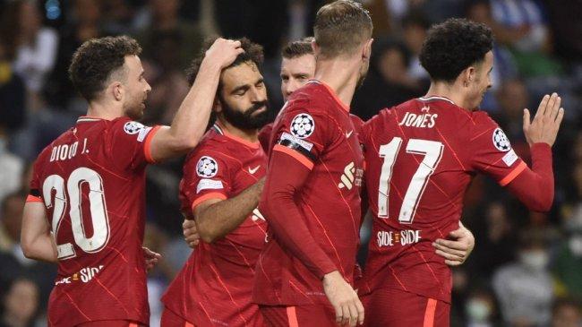 Fakta Kemenangan Liverpool atas Porto, Liga Champions, Rekor Ganda Salah hingga Milner Samai Gerrard