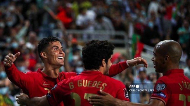 Di Balik Kemenangan Portugal atas Luxembourg: Hattrick Ronaldo, Jasa Unik Bruno, Palhinha Tiru CR7