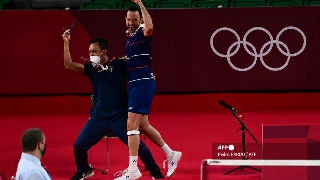 Live Streaming Semifinal Badminton Olimpiade 2021, Kevin Cordon vs Viktor Axelsen di Indosiar