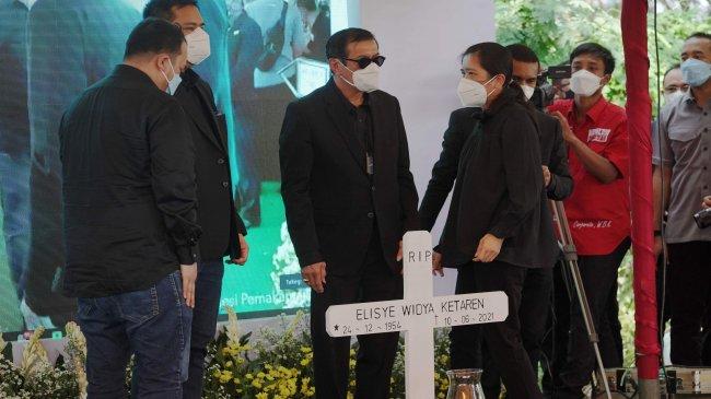Pemakaman Istri Menkumham Yasonna Laoly, Elisye W Ketaren di San Diego Hills