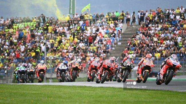 Jadwal Tayang MotoGP 2021 Hari Ini Live Trans7 - Marquez Cs Balapan MotoGP Aragon Pukul 19.00 WIB
