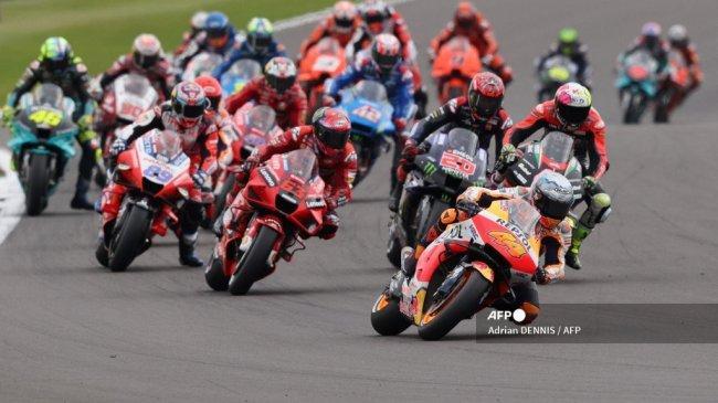 Jadwal MotoGP 2021 Lengkap Jam Tayang Trans7 - Pacuan Gelar Juara Dunia Antara Quartararo vs Bagnaia