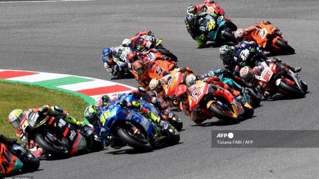 Jadwal Race MotoGP 2021 dan Jam Tayang Trans7 - Kans Pamungkas Bagnaia Recoki Jalur Juara Quartararo